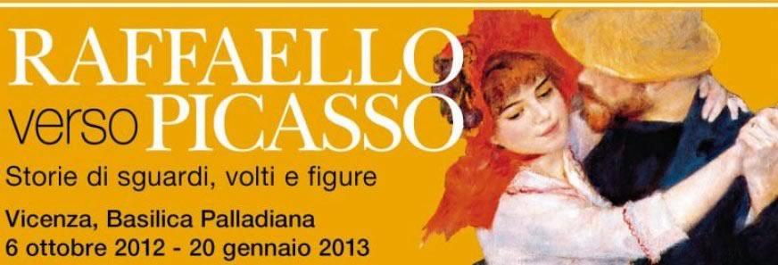 """Arte a Vicenza: """"Raffaello verso Picasso"""" in mostra alla Basilica Palladiana"""